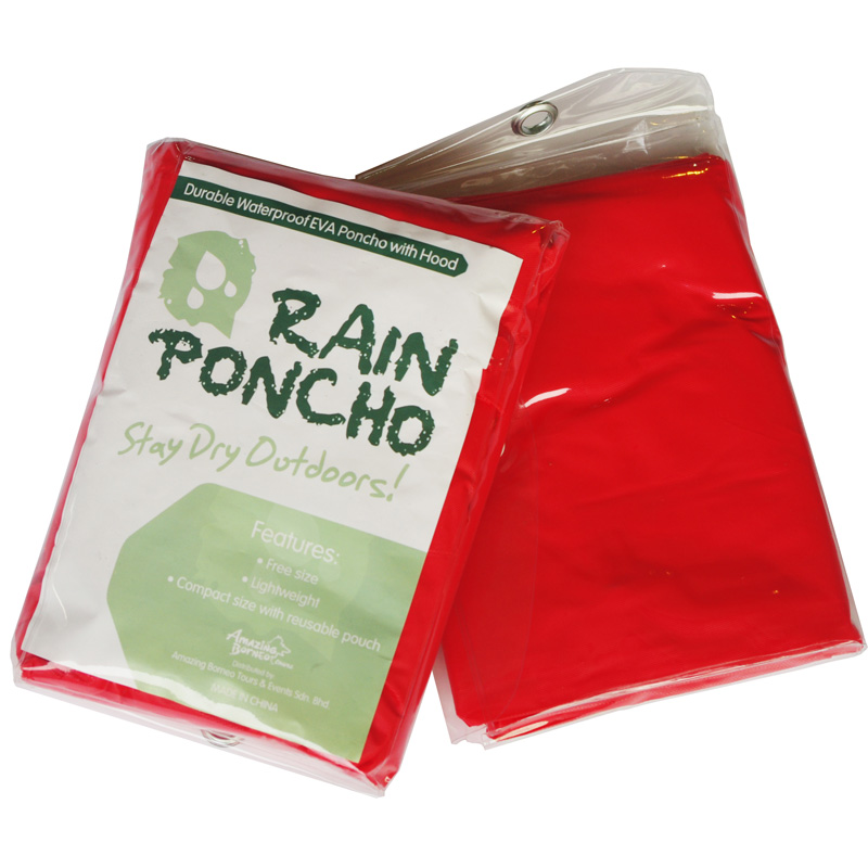 Reusable Rain Ponchos